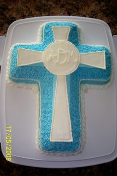 Cross 1st First Holy Communion Cake