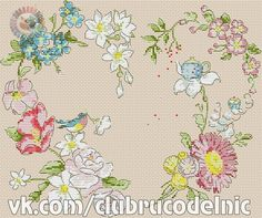 VK is the largest European social network with more than 100 million active users. Cross Stitch Pillow, Cross Stitch Heart, Cross Stitch Flowers, Counted Cross Stitch Patterns, Cross Stitch Embroidery, Cross Stitch Kitchen, Flowers For You, Valentines Day Decorations, Cross Stitching