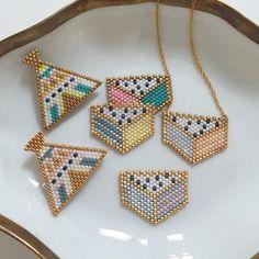 Comme une légère addiction....! #jenfiledesperlesetjassume #rosemoustache #monpetitbazar Diy Jewelry, Beaded Jewelry, Jewelry Making, Rose Moustache, Brick Stitch, Projects To Try, Beads, Earrings, Instagram Posts