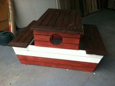 A $15 One-Day Pirate Table | Do It Yourself Home Projects from Ana White