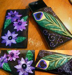 Iphone cases. Felt craft :)