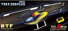 Trex 250 Plus DFC BTF