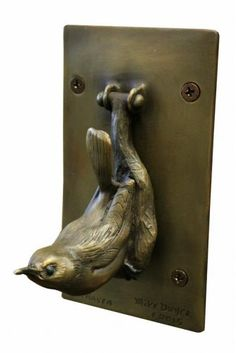 Captivating Wren Haven Door Knocker #doorknockersanimals