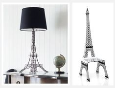 The Amazing Eiffel Tower Home Decor — Alert Interior Eiffel Tower Lamp, Eiffel Towers, Paris Theme Decor, Paris Living Rooms, Twin Girl Bedrooms, Torre Eiffel Paris, French Decor, Room Themes, Home Decor Accessories