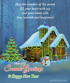 Season's Greetings or your friends and family #greetings