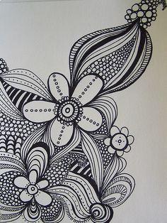 sharpie doodle by karolann1229, via Flickr
