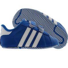 new product cc255 5d3fe Adidas Superstar 2 CMF Crib (blue bird  white) V25069 - 27.99