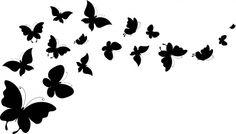 Butterflies Desktop Nexus Wallpapers Butterfly clip art Black butterfly Fairy silhouette