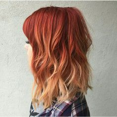 I do not want drastic ombre dipped ends. This is not blended enough. I want the color to almost look like the sun bleached my ends.