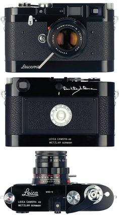 Leica「M3D-5」David Douglas Duncan limited edition from EPM facebook
