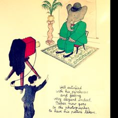 Babar was one of my favorites as a child.