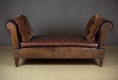 Early 20th.c. Double Ended Daybed c.1930.