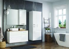 Kwadro Plus Collection na tablicy Bathroom Furniture. Meble Łazienkowe Double Vanity, Bathroom, Home, Design, Washroom, Bathrooms, Haus, Homes, Houses