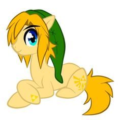 My Little Pony as LINK! Two obsessions in one. Yes! Mlp Games, Pony Style, My Little Pony Friendship, Equestria Girls, Mlp Characters, Fictional Characters, Legend Of Zelda, Pikachu, Unicorn