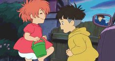 ponyo, the cliff by the sea, ghibli - 2008