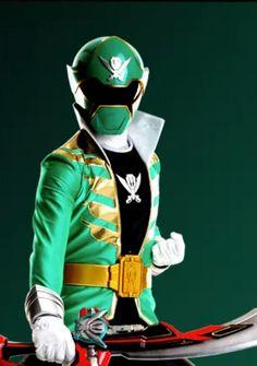 Green Megaforce Power Ranger