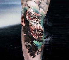 Monkey tattoo by Myskow Slawomir