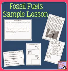 Super Science Test Prep Lessons Sample: Fossil Fuels