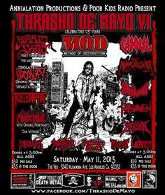 Gig Review: The Return Of Thrasho De Mayo http://metalassault.com/gig_reviews/2013/05/12/the-return-of-thrasho-de-mayo/