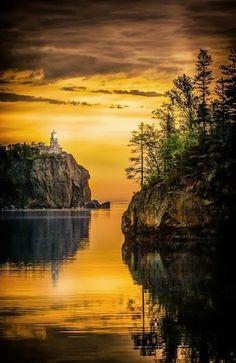 Split Rock Lighthouse Minnesota USA