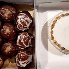 Muffins oder gleich eine ganze Torte bei dir zu Hause?hellip Kakao, Muffins, Breakfast, Food, Gluten Free Cakes, Food Food, Kuchen, Recipies, Morning Coffee