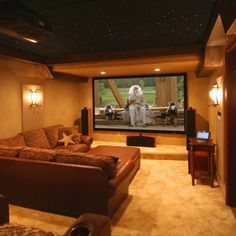 Perfect home cinema!
