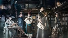 """Scholar Who Walks The Night"" An evil vampire has ruled over the kings of an imperial dynasty for centuries. Only those who are willing to obey have ever been allowed to rise to the throne. When Crown Prince Jung Hyun (Lee Hyun Woo) refuses to bow to the vampire, Gwi kills him, but not before the prince writes a secret plan to overthrow the vampire under the pseudonym ""Lustful Student."" The prince's friend, a handsome scholar named Kim Sung Yeol (Lee Joon Gi), accidentally..."