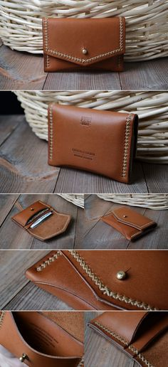 Items similar to Slim Leather Card Case , Custom Leather Card Holder , Mens Leather Card Wallet , Leather Credit Card Case Holder , Anniversary Gift on Etsy Leather Art, Custom Leather, Leather Design, Leather Tooling, Leather Purses, Leather Wallets, Pink Leather, Handmade Leather Wallet, Leather Card Wallet