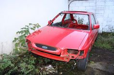 ford escort rs2000 4x4 1995 for restoration, mk5b very rare