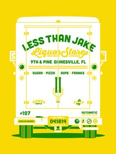 GigPosters.com - Less Than Jake