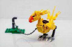LEGO Chocobo 1 by Carlmerriam on Flickr.