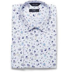 Paul Smith London | Floral-Print Byard Cotton Shirt #paulsmithlondon #floral #shirt