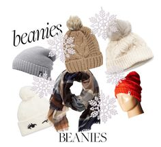 """beanies.....beanies...."" by dastika on Polyvore featuring Kate Spade, SIJJL, The North Face, TravelSmith, John Lewis and Chicnova Fashion"