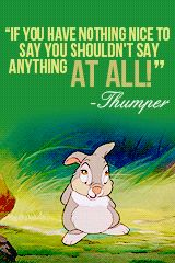 Thumper from Bambi quote