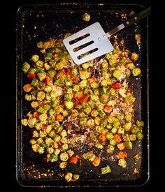 Cajun Spiced Okra - My Vegan Cookbook - Vegan Baking Cooking Recipes Tips