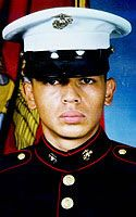 Marine Pfc. Francisco Martinez Flores  Died March 25, 2003 Serving During Operation Iraqi Freedom  21, of Los Angeles; assigned to 1st Tank Battalion, 1st Marine Division, Marine Corps Air-Ground Combat Center, Twentynine Palms, Calif.; killed in action while conducting convoy operations near the Euphrates River, Iraq.