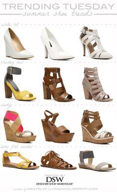 Trending Tuesday | Summer Shoes #DSWShoeHookup #PintoWin