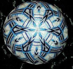 snowflakes temari