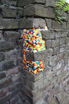 Dispatchwork colourful Lego cities