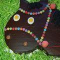 Je vous présente un joli gâteau d'anniversaire rigolo sur le thème du cheval. Pour le gâteau de base, j'ai choisi de réaliser un gâteau...