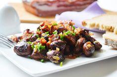 Käferbohnensalat - Rezept Beef, Dishes, Dressings, Food, Kitchens, Lettuce Recipes, Salads, Healthy Snack Foods, Easy Meals