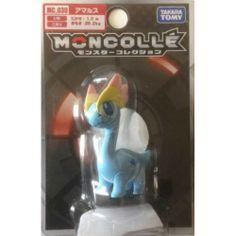 "Pokemon 2014 Amaura Tomy 2"" Monster Collection Plastic Figure MC-030"