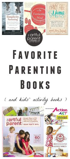 A list of good parenting books that I've found especially helpful. Books that have influenced how I parent and how I live as well as kids activity books.