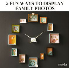 Transform your family pictures into stunning works of art with these creative arrangements, selected by Najwa Abdullah.