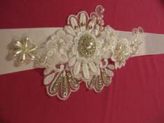 Wedding bridal SashBridal dress belt bridal by Misseleganceyveils, £24.99