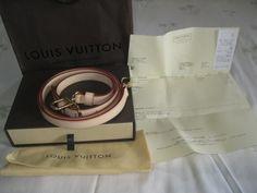Adjustable strap for carrying LV shoulder bags! Louis Vuitton Strap, Shoulder Bags, Shoulder Bag