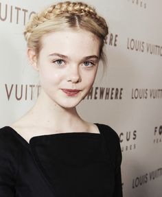 Time To Shine In Medium Length Hairstyles Who doesn't love fairytale braids? This look is just too p Hair Day, My Hair, Milkmaid Braid, Dakota And Elle Fanning, Pretty Face, Braided Hairstyles, Updo Hairstyle, Prom Hairstyles, Girl Crushes