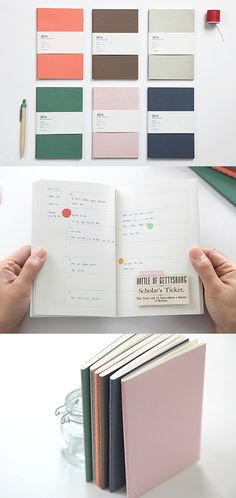 Sometimes simple is the best! And the Small Simple Scheduler is no exception. This light and portable scheduler may be simple, but it has what you'll need to organize your schedule whenever! It is easy to carry, and it has a colorful cover with clean layout inside.