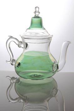 Green Glass Tea Pot -  $125.00 - NOW  $100.00 #dominodeals domino.com