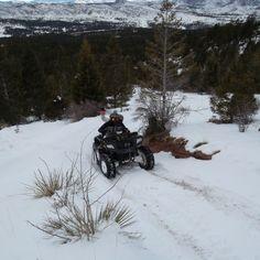 Snow Ride At Rainbow Falls